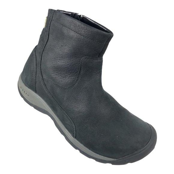 Keen Womens Presidio Leather Winter Boots Sz 8.5.